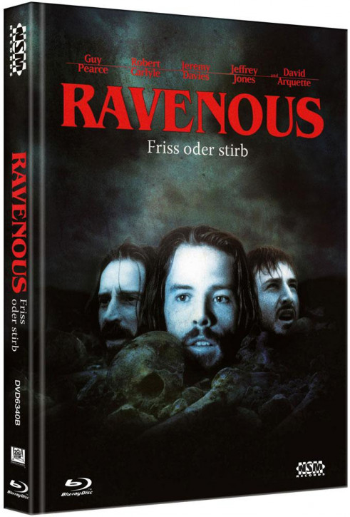 Ravenous - Friss oder Stirb - Mediabook - Cover B [Bluray+DVD]