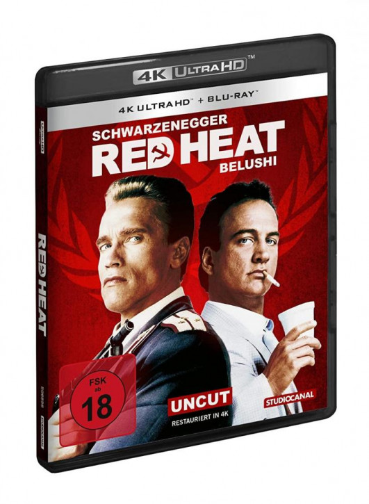 Red Heat [4K UHD+Blu-ray]