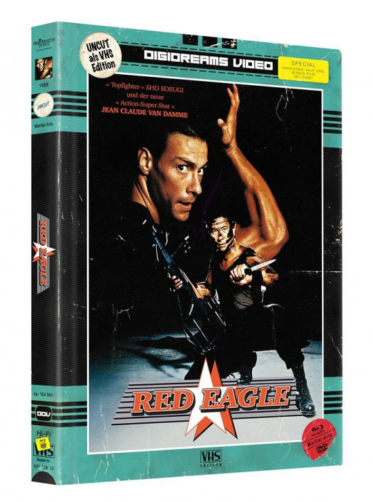 Red Eagle - Limited Mediabook VHS Edition [Blu-ray+DVD]