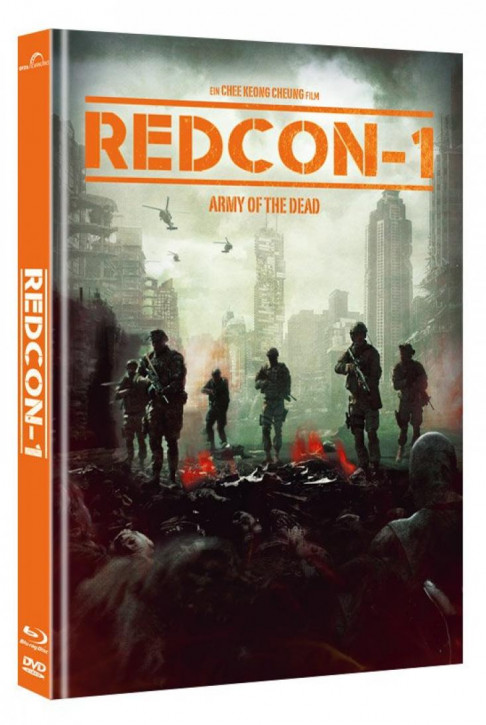Redcon-1 - Army of the Dead - Mediabook - Cover A [Blu-ray+DVD]