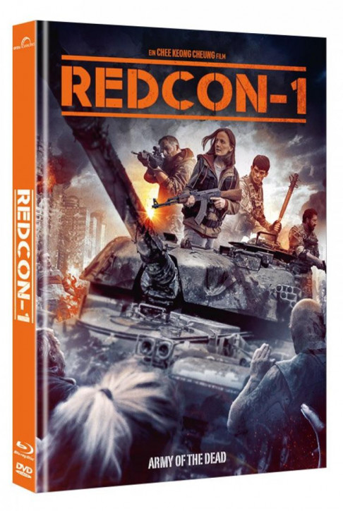 Redcon-1 - Army of the Dead - Mediabook - Cover B [Blu-ray+DVD]