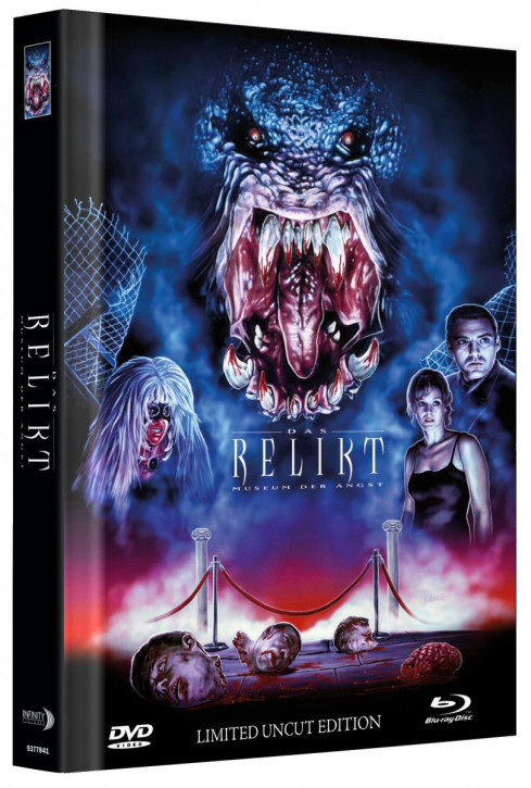 Das Relikt - Museum der Angst - Limited Mediabook Edition - Cover A [Blu-ray+DVD]