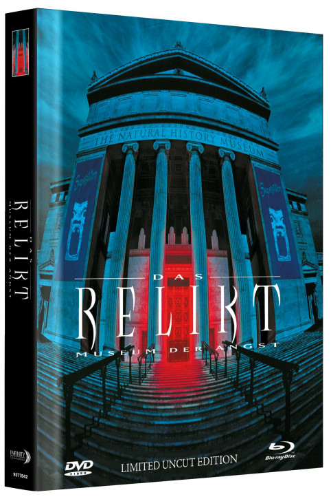 Das Relikt - Museum der Angst - Limited Mediabook Edition - Cover B [Blu-ray+DVD]