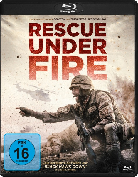 Rescue Under Fire [Blu-ray]