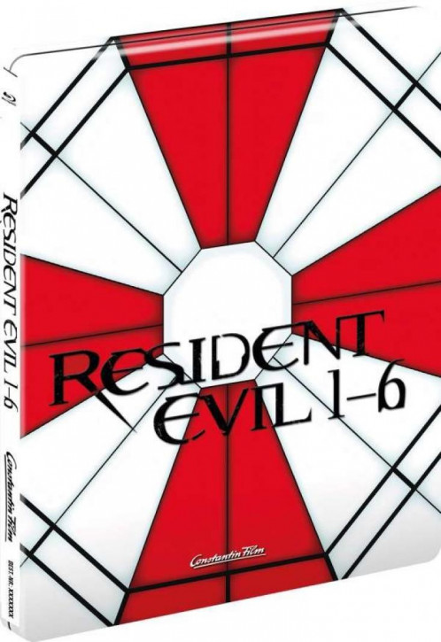 Resident Evil 1-6 - Limited Steelbook Edition [Blu-ray]