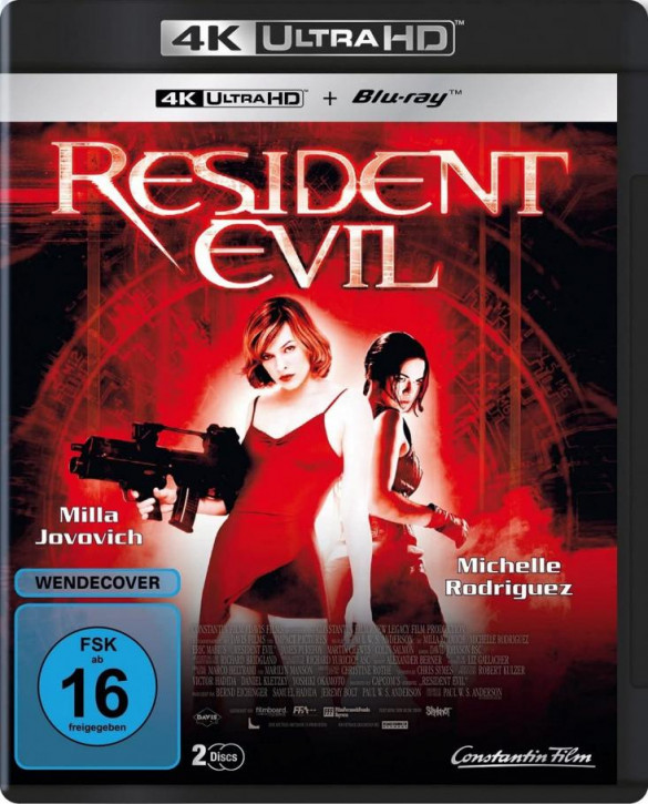 Resident Evil [4K UHD+Blu-ray]