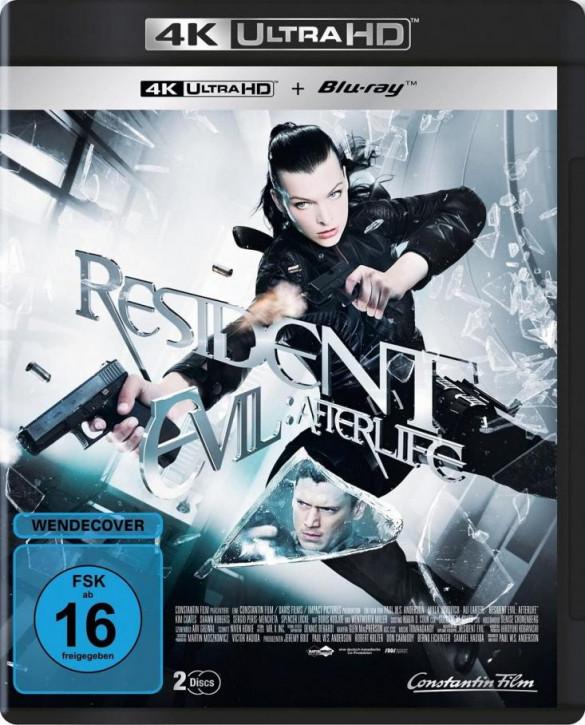 Resident Evil: Afterlife  [4K UHD+Blu-ray]
