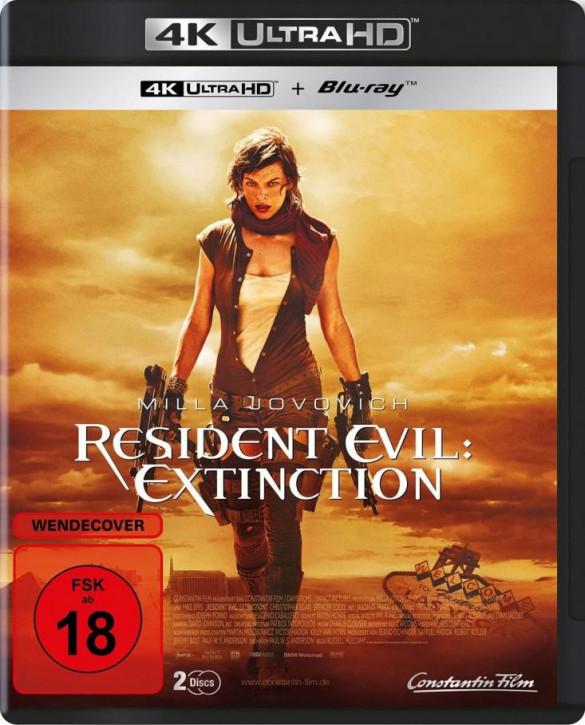 Resident Evil: Extinction [4K UHD+Blu-ray]