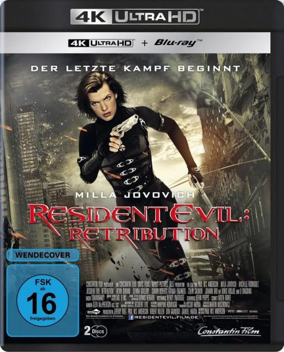 Resident Evil: Retribution [4K UHD+Blu-ray]