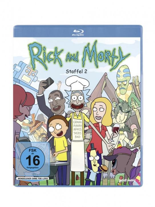Rick & Morty - Staffel 2 [Blu-ray]