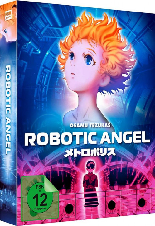 Robotic Angel - Limited Mediabook [Blu-ray+DVD]