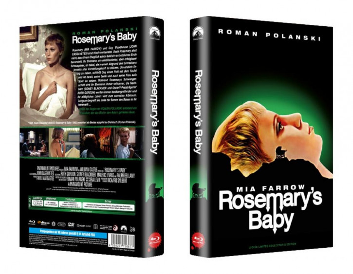 Rosemarys Baby - große Hartbox - Cover A [Blu-ray]