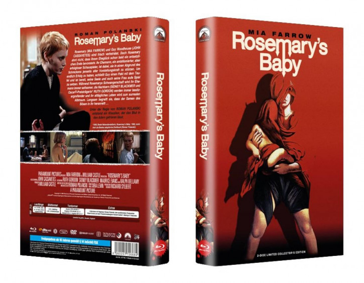 Rosemarys Baby - große Hartbox - Cover B [Blu-ray]