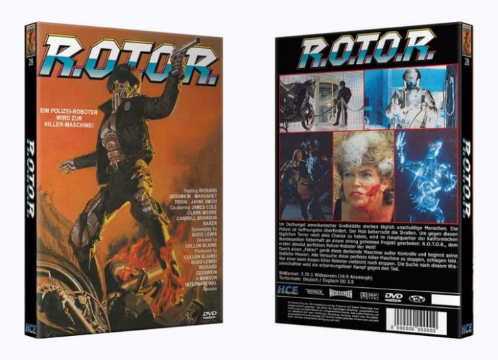 R.O.T.O.R - Große Hartbox [DVD]