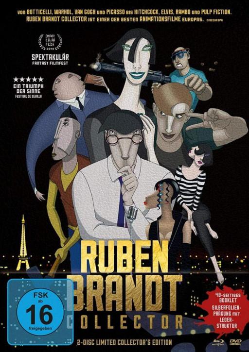 Ruben Brandt Collector - Mediabook Edition [Blu-ray+DVD]