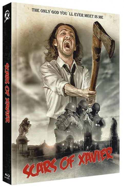 Scars of Xavier - Limited Collectors Edition - Cover C [Blu-ray+DVD]