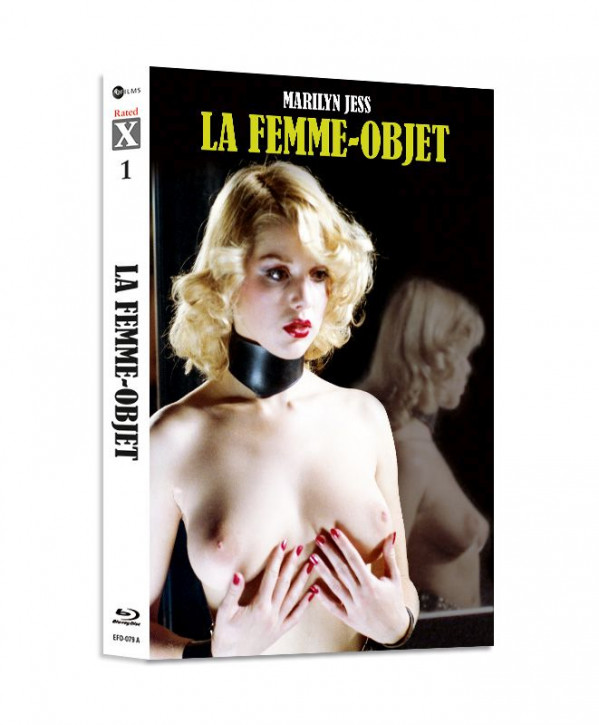 Science Fiction Lady - Limited Mediabook Edition - Rated X Nr.01  - Cover A [Blu-ray+CD]