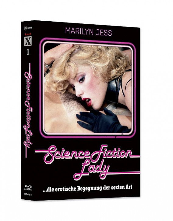 Science Fiction Lady - Limited Mediabook Edition - Rated X Nr.01  - Cover B [Blu-ray+CD]