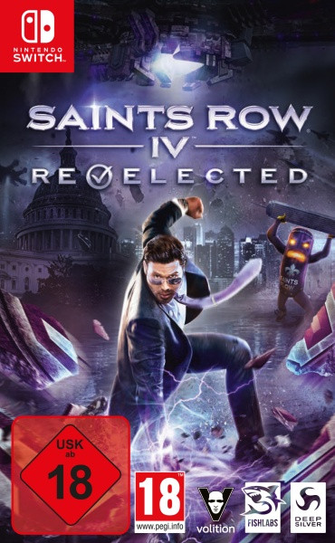 Saints Row IV Re-Elected [Switch]