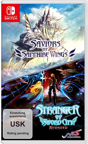 Saviors of Sapphire Wings + Stranger of Sword City Revisited [Nintendo Switch]