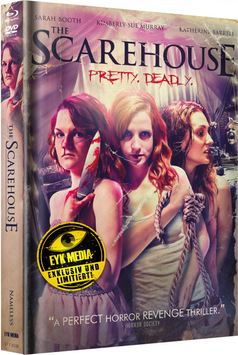 Scarehouse - Limited Mediabook - Cover B [Blu-ray+DVD]