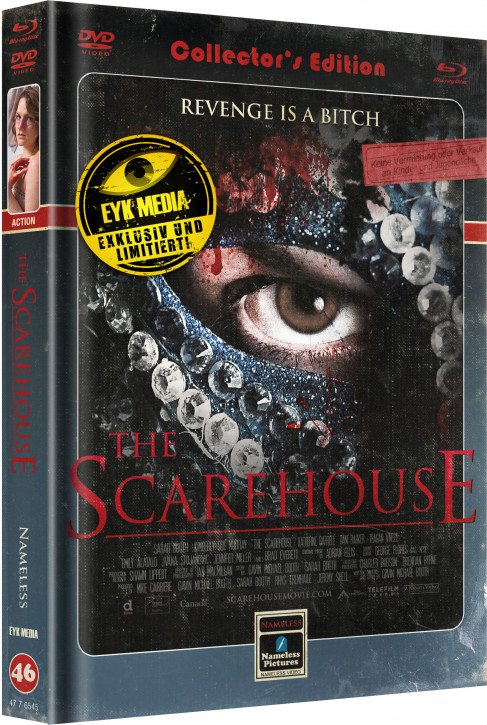 Scarehouse - Limited Mediabook - Cover C [Blu-ray+DVD]