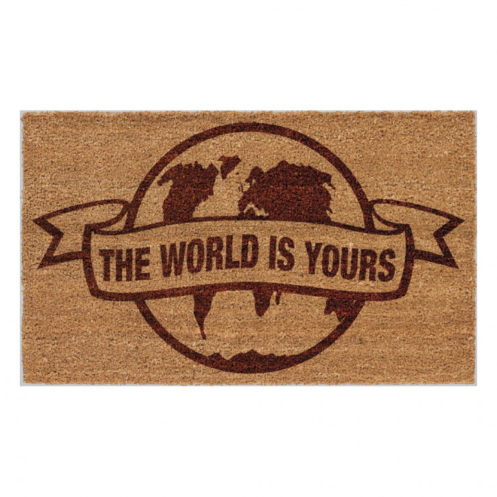 Scarface - Fußmatte - The World Is Yours