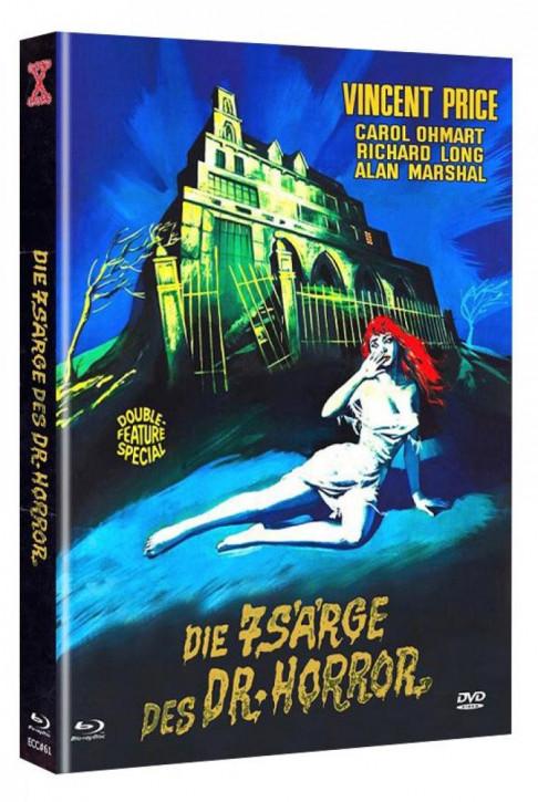 Das Geheimnis von Schloss Monte Christo - Eurocult Collection #061 - Mediabook - Cover C [Blu-ray+DVD]