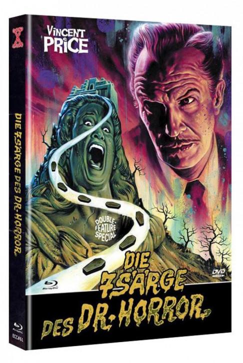 Das Geheimnis von Schloss Monte Christo - Eurocult Collection #061 - Mediabook - Cover D [Blu-ray+DVD]