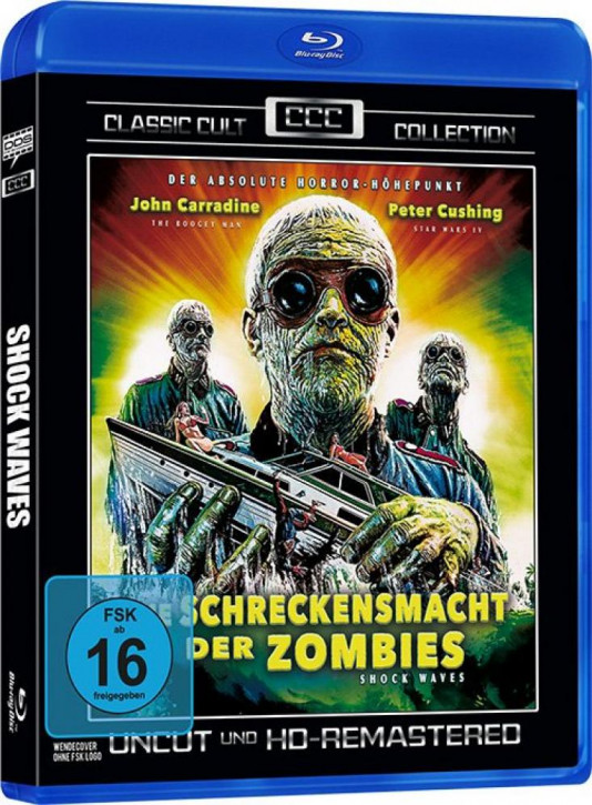 Die Schreckensmacht der Zombies (Classic Cult Collection) [Blu-ray]