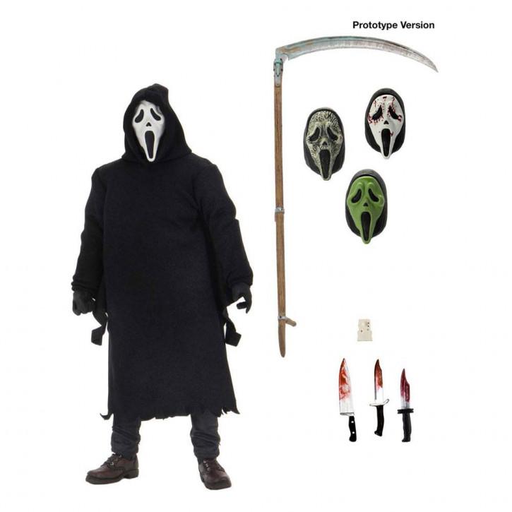 Scream - Actionfigur Ultimate - Ghostface