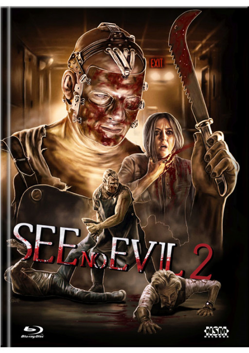 See no Evil 2 - Limited Mediabook Edition - Cover C [Blu-ray+DVD]