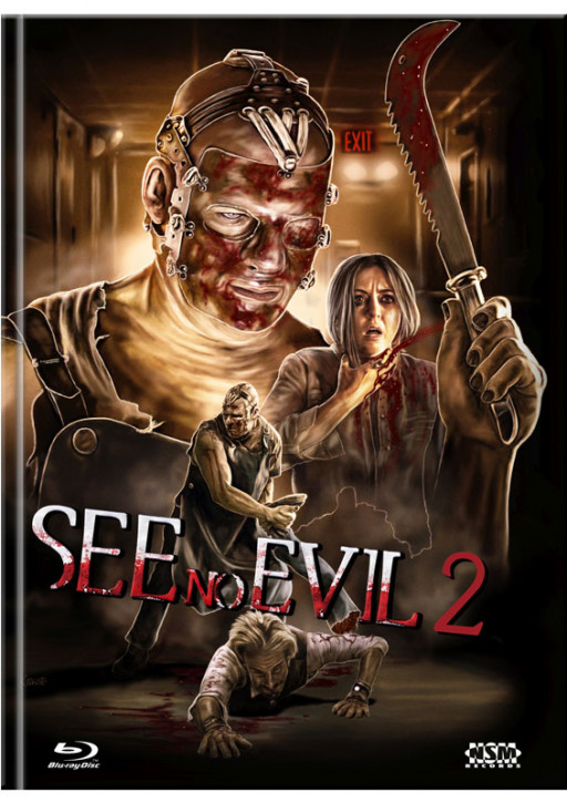 See no Evil 2 - Limited Mediabook Edition - Cover D [Blu-ray+DVD]