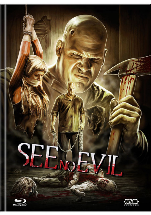 See no Evil - Limited Mediabook Edition - Cover C [Blu-ray+DVD]