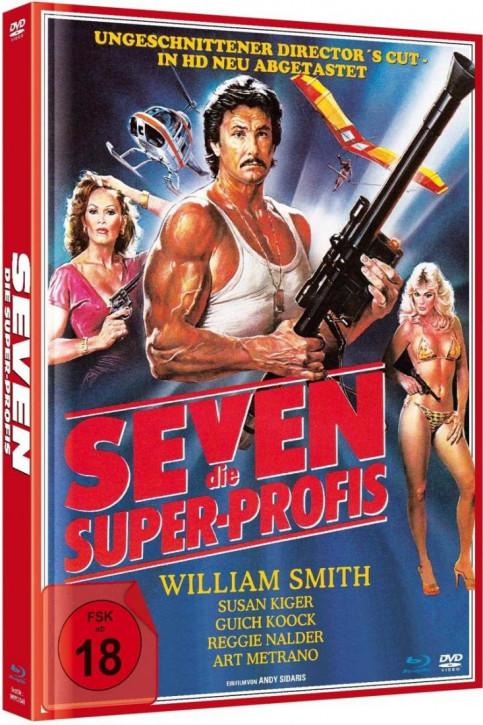 Seven - Die Super-Profis - Mediabook [Blu-ray+DVD]