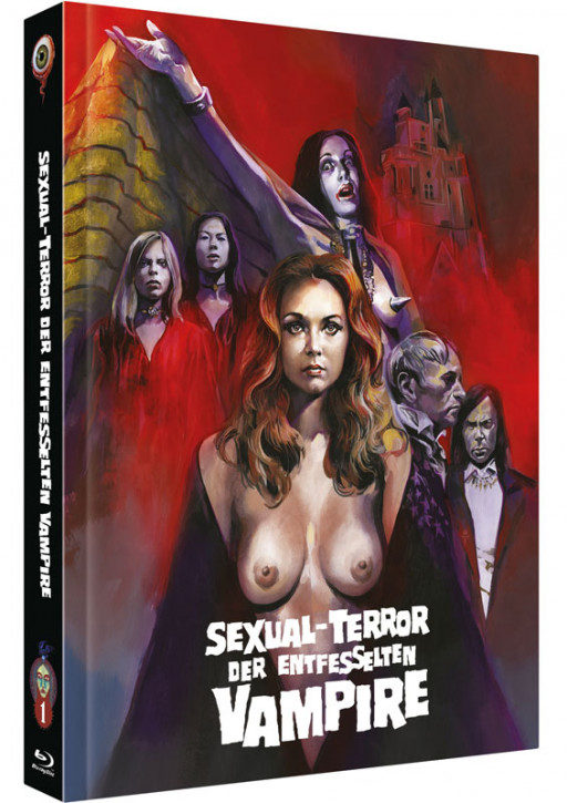 Sexual - Terror der entfesselten Vampire - Collector's Edition - Cover C [Blu-ray+DVD]