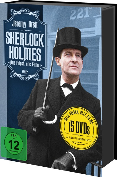 Sherlock Holmes - Alle Folgen, alle Filme [DVD]