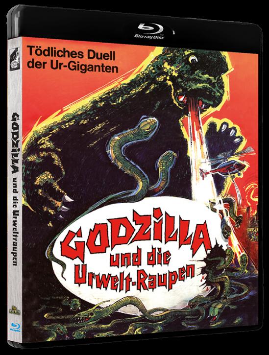 Godzilla und die Urweltraupen [Blu-ray]