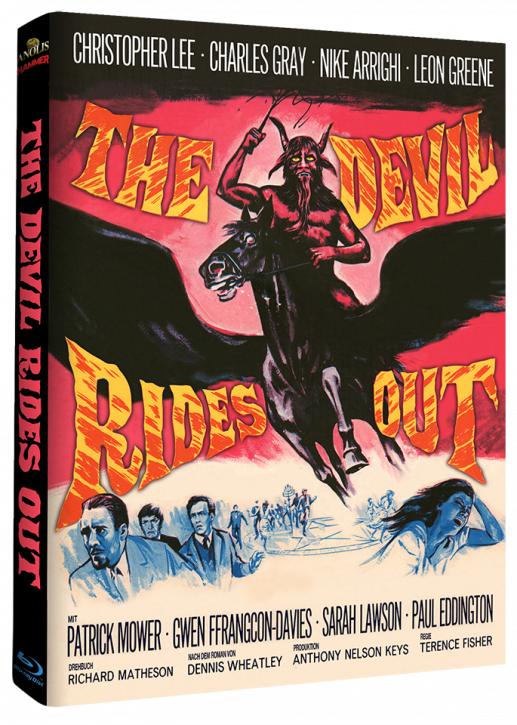 Devil Rides Out - Mediabook Cover A [Blu-ray]