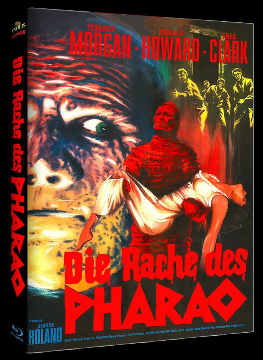 Die Rache des Pharao - Hammer Edition - Cover A [Blu-ray]