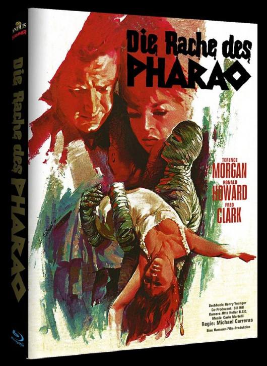 Die Rache des Pharao - Hammer Edition - Cover B [Blu-ray]