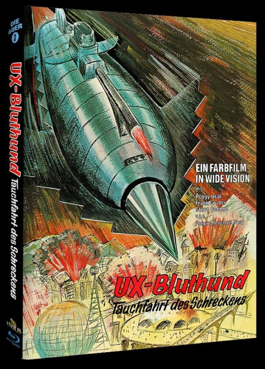 UX Bluthund - Tauchfahrt des Schreckens - Phantastische Filmklassiker Folge Nr. 7 - Cover A [Blu-ray]
