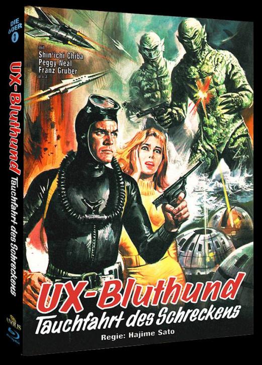 UX Bluthund - Tauchfahrt des Schreckens - Phantastische Filmklassiker Folge Nr. 7 - Cover B [Blu-ray]