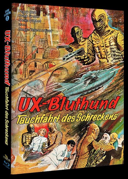 UX Bluthund - Tauchfahrt des Schreckens - Phantastische Filmklassiker Folge Nr. 7 - Cover C [Blu-ray]