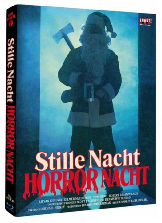 Stille Nacht, Horror Nacht - Limited Mediabook - Cover B [Blu-ray]