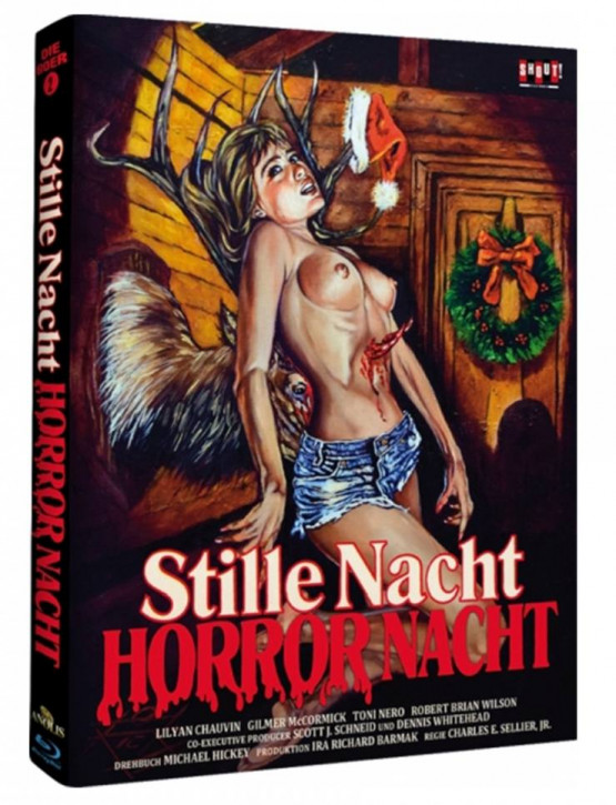 Stille Nacht, Horror Nacht - Limited Mediabook - Cover C [Blu-ray]