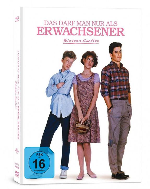 Das darf man nur als Erwachsener - Sixteen Candles - Mediabook [Blu-ray+DVD]