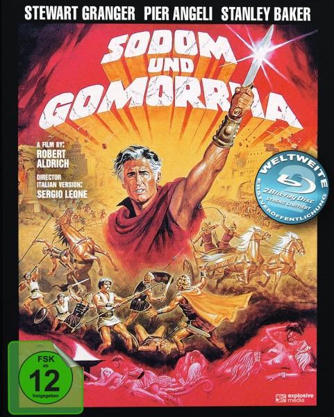 Sodom und Gomorrha - Mediabook - Cover B [Blu-ray]