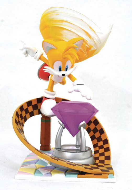 Sonic - Gallery PVC Diorama - Tails