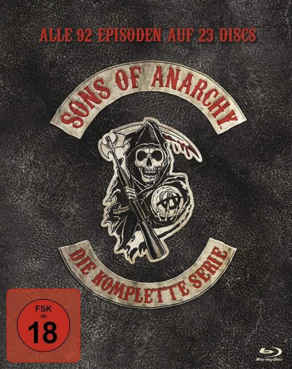 Sons of Anarchy - Komplettbox Staffel 1-7 [Blu-ray]